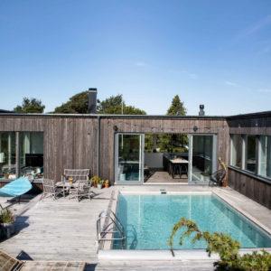 Hus med pool
